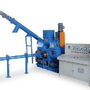 Straw Briquette Press