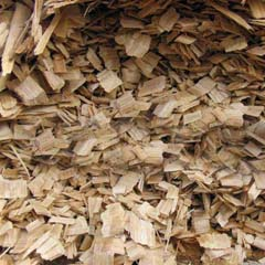 wood waste crushed