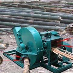 wood chipping machine
