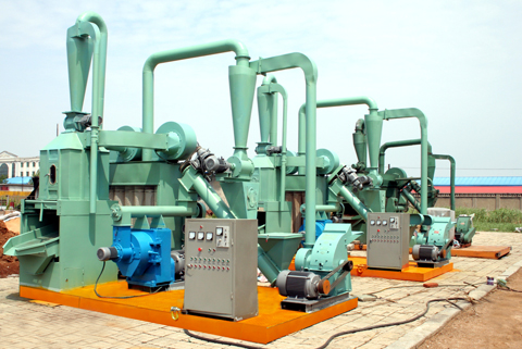 small set wood pellet machine