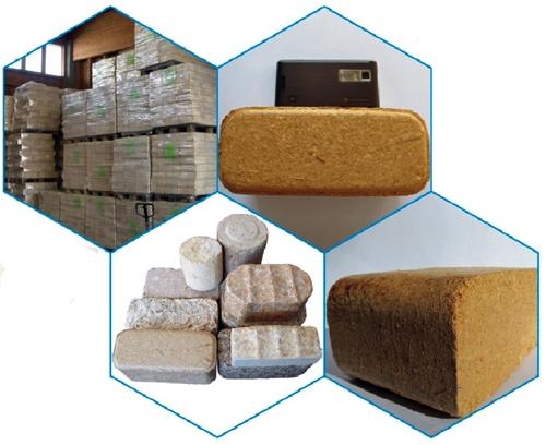 Automatic hydraulic bio brick making machine for sale high