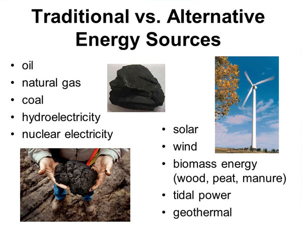 Biomass Energy And Traditional Energy
