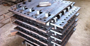 hook twin rail base plate