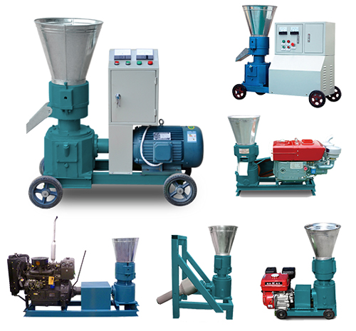 All types of flat die pellet mill
