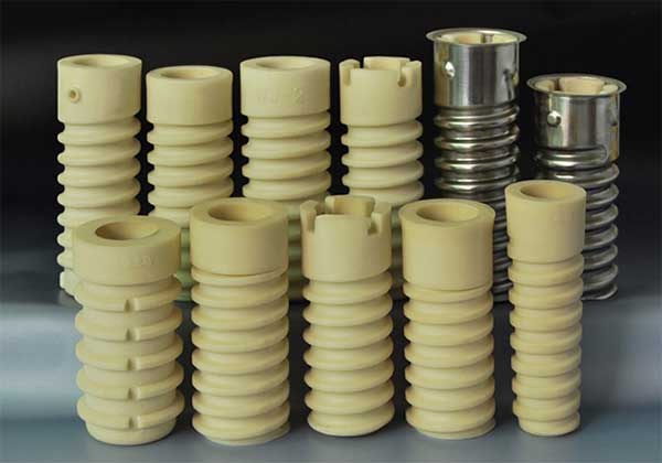 different types of rail plastic dowel