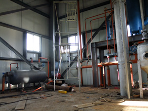 oil refining workshop