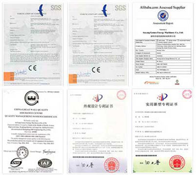 pellet mill certifications