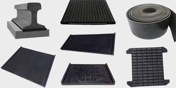 various types of rail pads