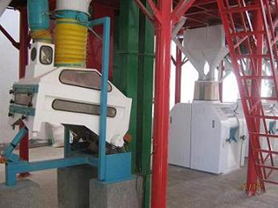 wheat flour mill destoner