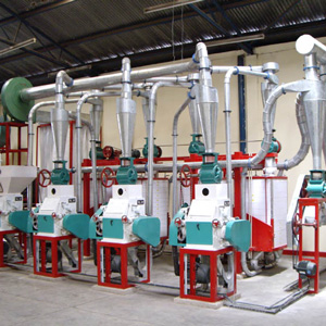 Different Method Used In Small Maize Flour Mill Plant